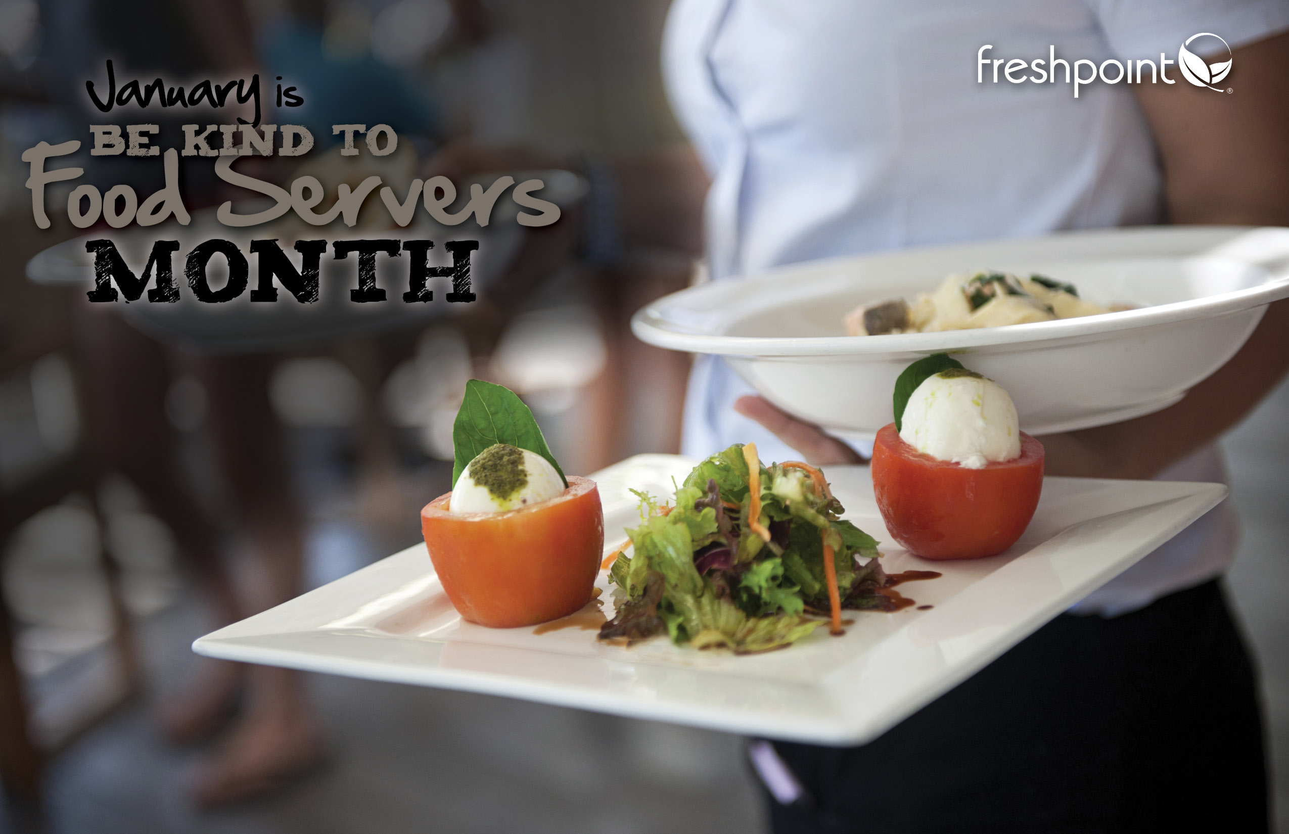 January is Be Kind to Food Servers Month