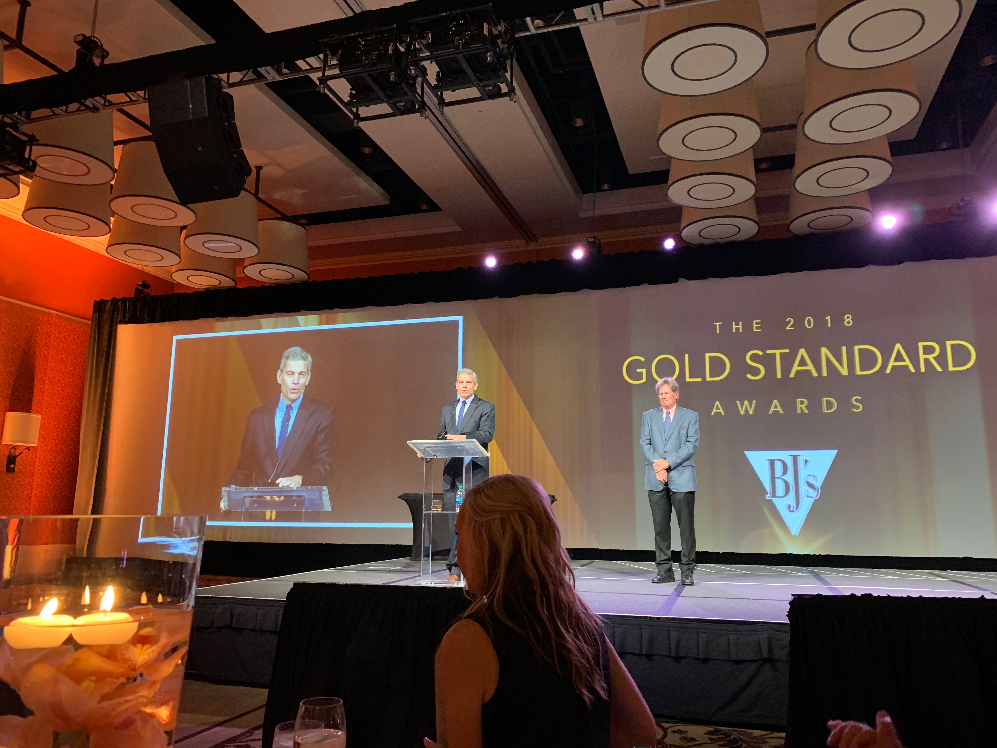 Gold Standard Partner Supplier of the Year Award FreshPoint Produce