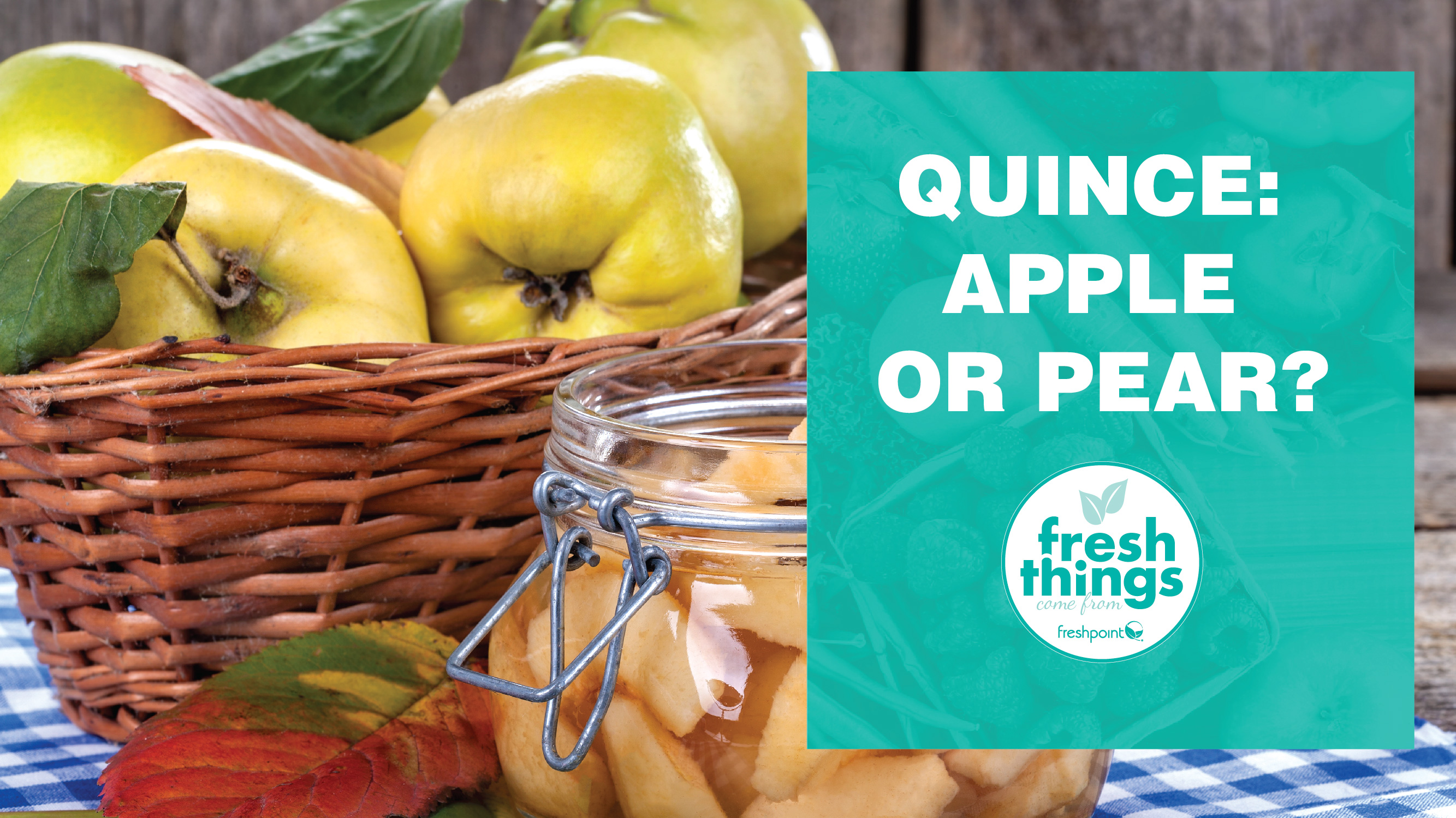 quince a pear or an apple freshpoint produce