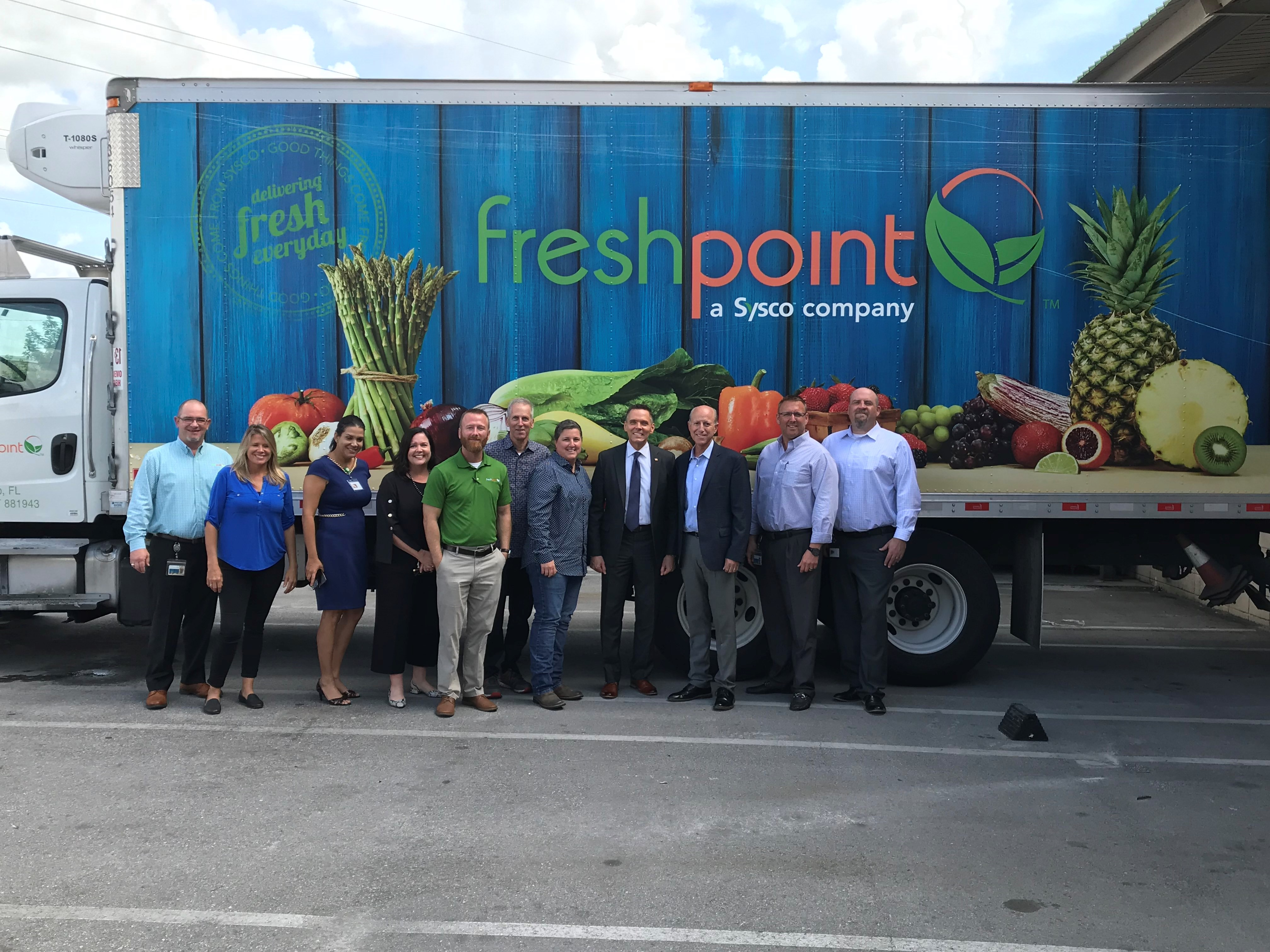 Ross-Spano-visit-FreshPoint-West-Coast_Florida