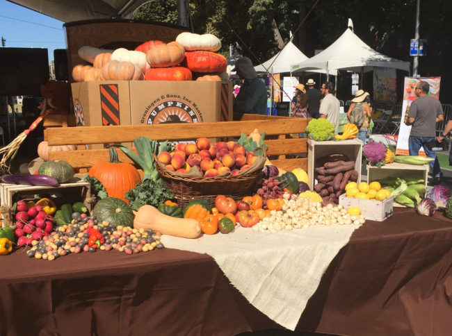 Local Produce Display—FreshPoint Central California