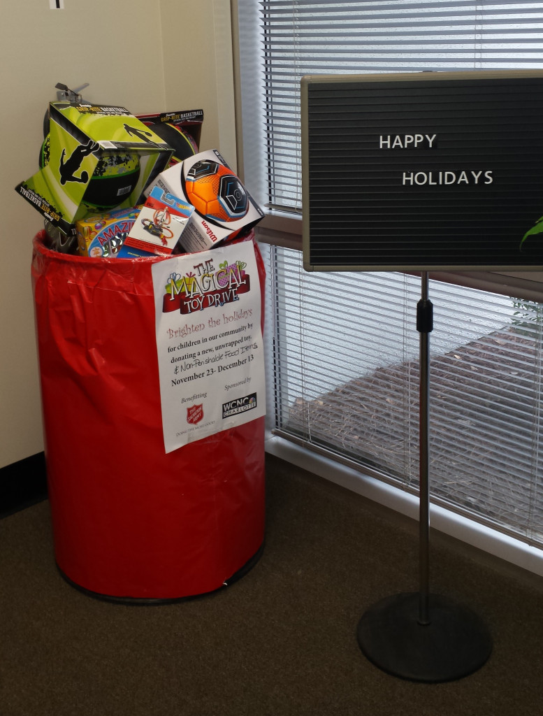 FreshPoint Charlotte Toys for Tots