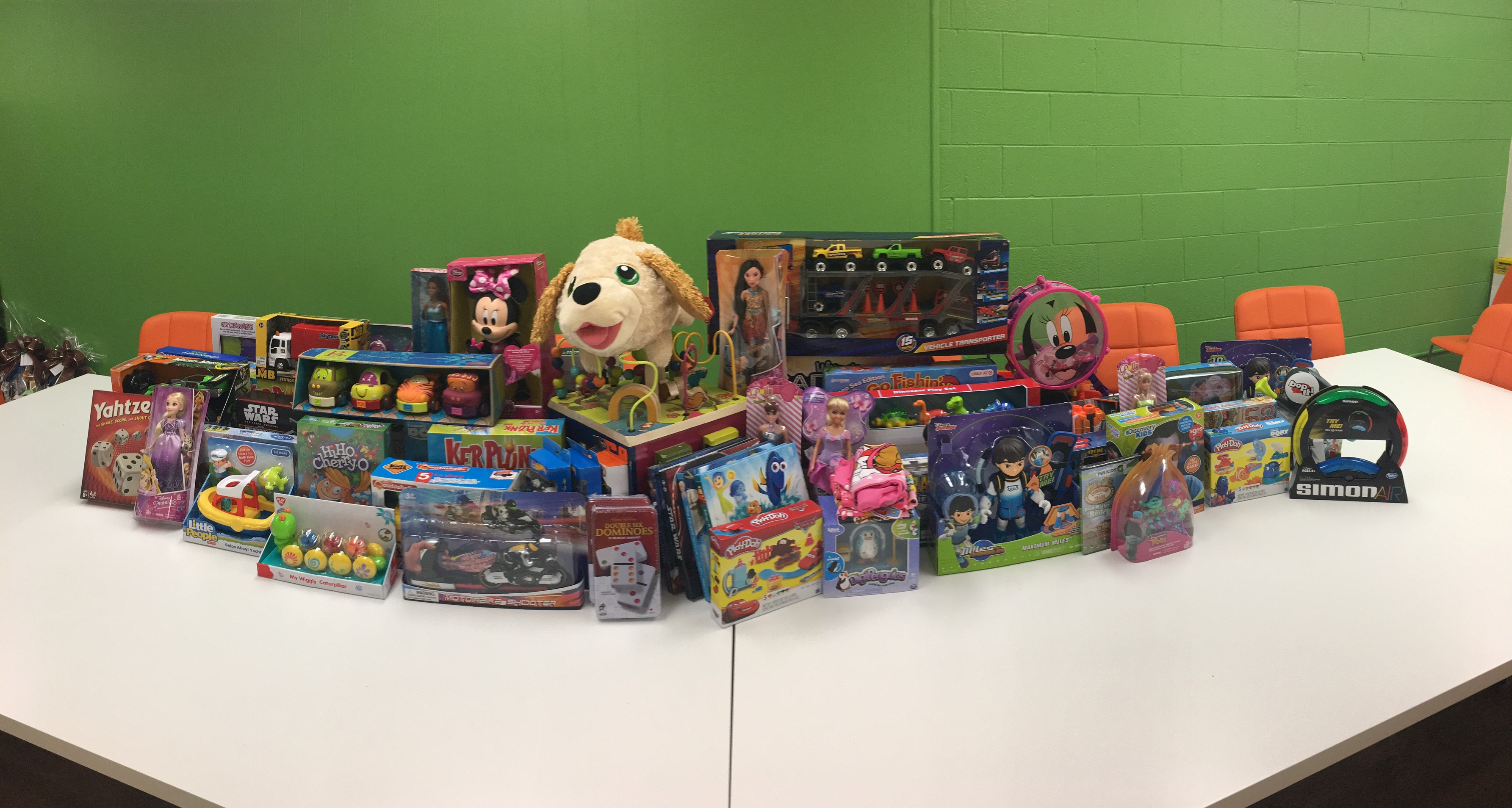 FreshPoint Denver's holiday toys ready to donate to the Boy's and Girl's Club of Metro Denver.
