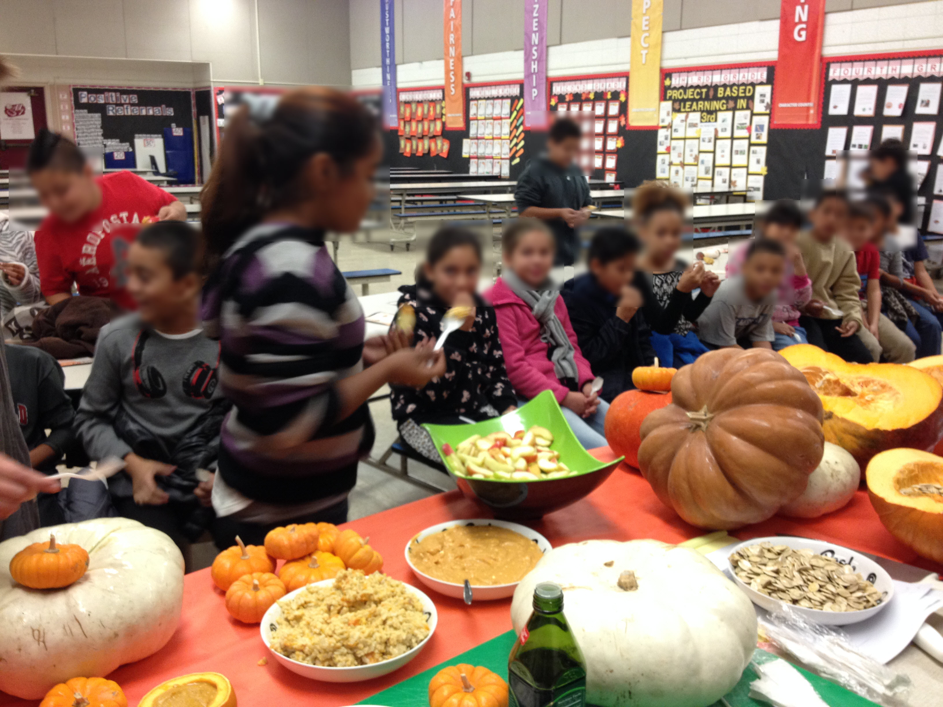 It's a Pumpkin-palooza at Frank West Elementary School