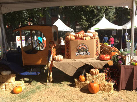 Sysco Sacramentos Model T Truck with Produce Display—FreshPoint Central California